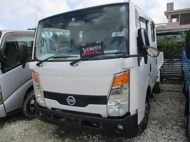 沖縄県の中古車ならアトラストラック WキャブスーパーローDX