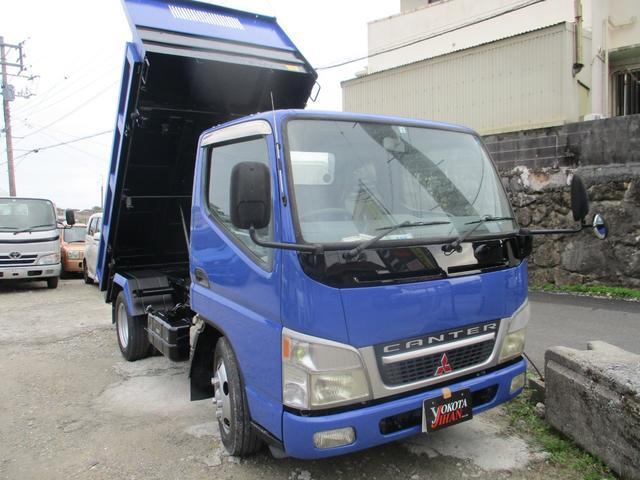 沖縄県の中古車ならキャンター 2トン積載3転ダンプ