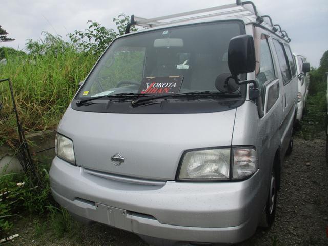 沖縄の中古車 日産 バネットバン 車両価格 29万円 リ済別 2003(平成15)年 14.0万km シルバーM
