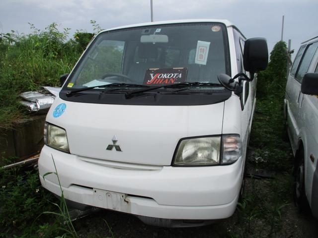 沖縄の中古車 三菱 デリカバン 車両価格 39万円 リ済別 2002(平成14)年 5.3万km ホワイト