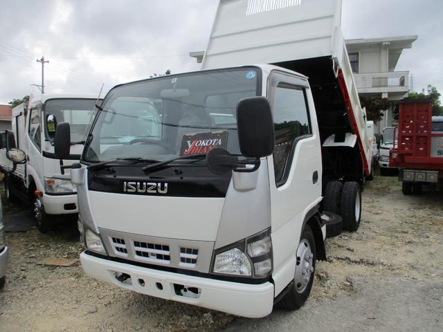 沖縄県の中古車ならエルフトラック 3トン強化ダンプ