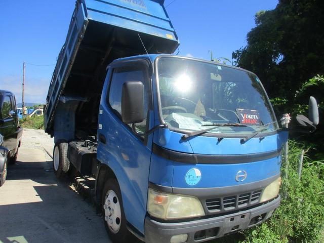 沖縄県の中古車ならデュトロ 高床強化ダンプ