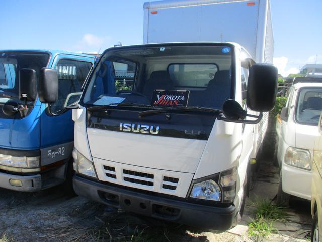 沖縄県の中古車ならエルフトラック 箱車1.45トン積載