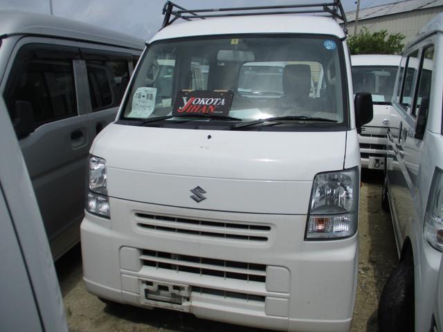 沖縄の中古車 スズキ エブリイ 車両価格 34万円 リ済別 2014(平成26)年 14.1万km ホワイト