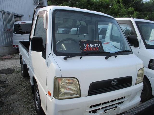 沖縄県の中古車ならサンバートラック 4WDエアコンパワステ付き