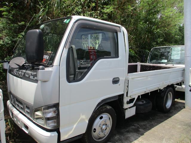 沖縄県の中古車ならエルフトラック 2トン積載低床
