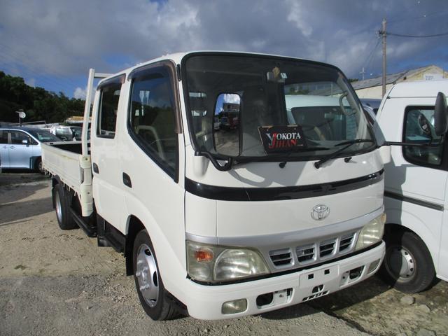 沖縄県の中古車ならダイナトラック Wキャブロングフルジャストロー