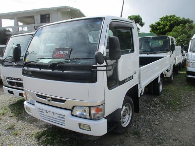 沖縄県の中古車ならアトラストラック 1.5トン積載低床キーレスフル装備