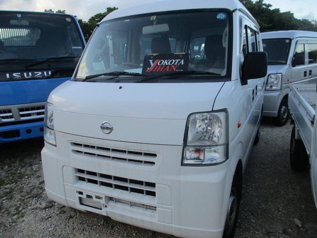 沖縄の中古車 日産 NV100クリッパーバン 車両価格 35万円 リ済別 2014(平成26)年 12.5万km ホワイト