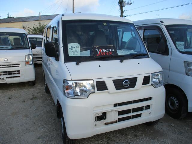 沖縄の中古車 日産 NV100クリッパーバン 車両価格 34万円 リ済別 2013(平成25)年 12.1万km ホワイト