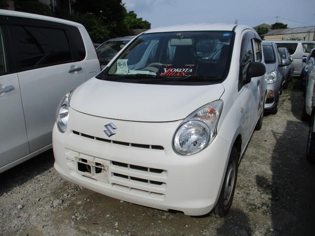 沖縄の中古車 スズキ アルト 車両価格 24万円 リ済別 2013(平成25)年 5.4万km ホワイト
