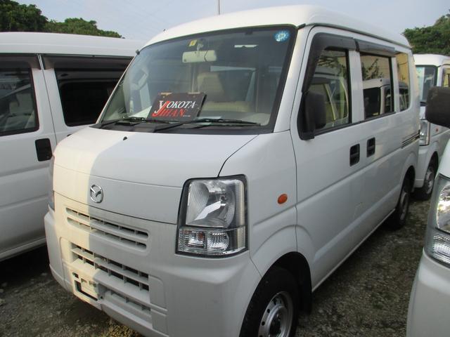 沖縄の中古車 マツダ スクラム 車両価格 28万円 リ済別 2012(平成24)年 14.3万km ホワイト