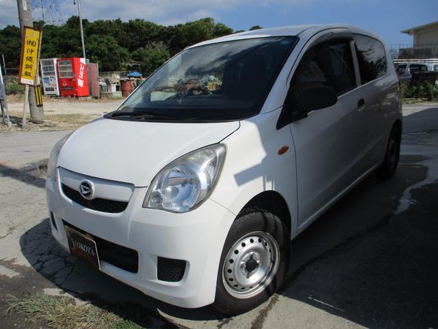 沖縄の中古車 ダイハツ ミラ 車両価格 28万円 リ済別 2012(平成24)年 7.9万km ホワイト