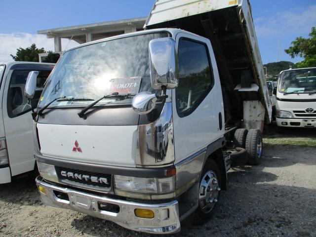 沖縄県の中古車ならキャンター ダンプ