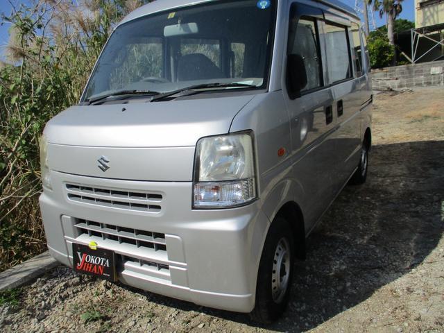 沖縄の中古車 スズキ エブリイ 車両価格 28万円 リ済別 2008(平成20)年 15.3万km シルバー