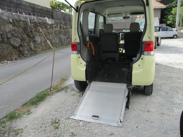 沖縄県中頭郡西原町の中古車ならタント スロープ式福祉車両