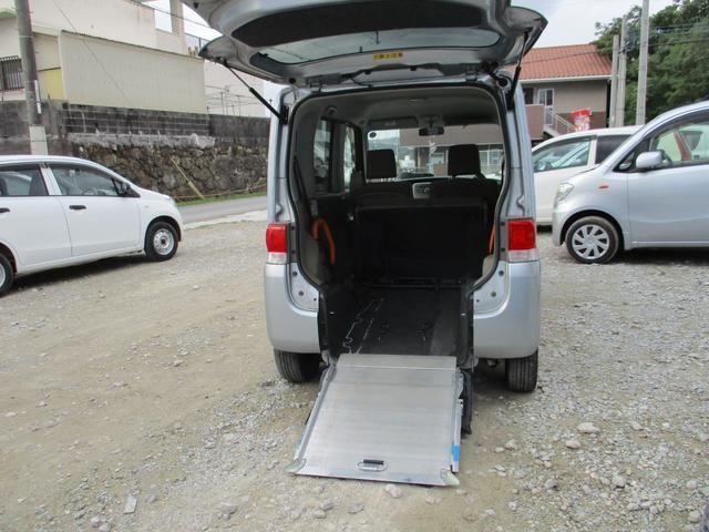 沖縄県の中古車ならタント スロープ式福祉車両