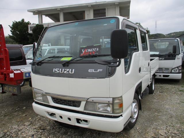 沖縄県の中古車ならエルフトラック Wキャブ1250K積載