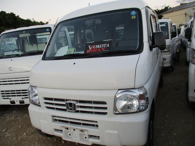 沖縄の中古車 ホンダ アクティバン 車両価格 34万円 リ済別 2013(平成25)年 11.7万km ホワイト