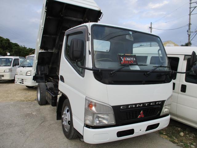 沖縄県の中古車ならキャンター 2トン低床ダンプ