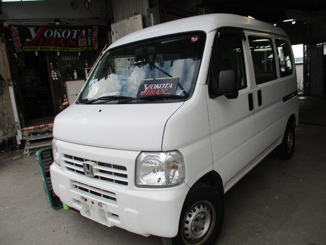 沖縄の中古車 ホンダ アクティバン 車両価格 34万円 リ済別 2010(平成22)年 11.2万km ホワイト
