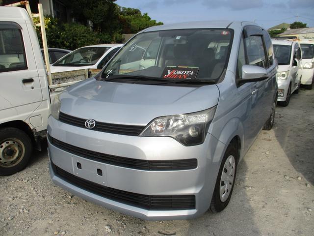 沖縄の中古車 トヨタ スペイド 車両価格 39万円 リ済別 2013(平成25)年 9.5万km ライトブルーM