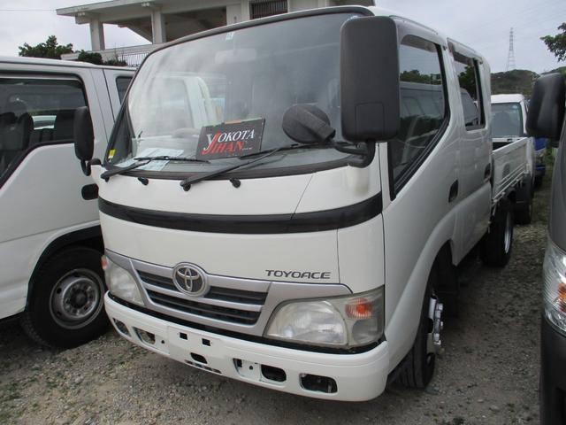 沖縄県の中古車ならトヨエース Wキャブフルジャストロー