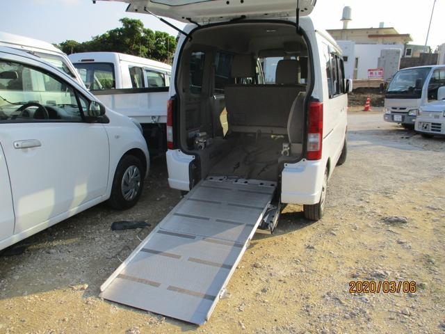 沖縄県の中古車ならエブリイワゴン スロープ式福祉車両