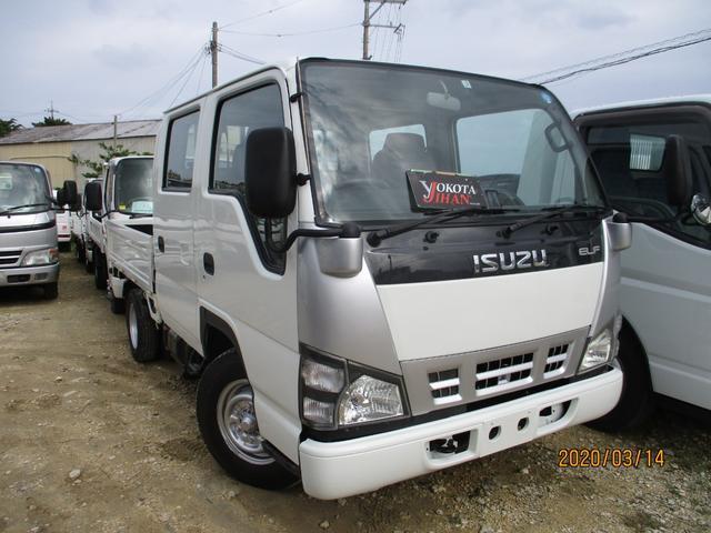 沖縄県の中古車ならエルフトラック Wキャブ1750K積載