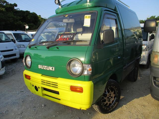 沖縄県の中古車ならキャリイトラック 4WDオリジナルパネルバン