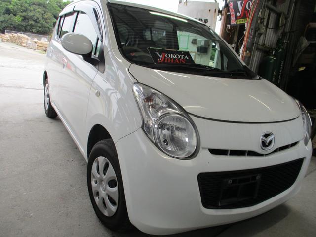 沖縄の中古車 マツダ キャロル 車両価格 27万円 リ済別 2011(平成23)年 6.3万km ホワイト