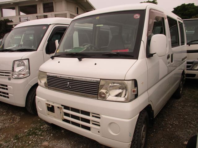 沖縄の中古車 三菱 ミニキャブバン 車両価格 24万円 リ済別 2007(平成19)年 12.4万km ホワイト