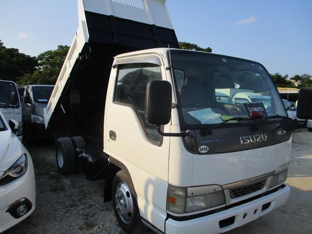 沖縄県中頭郡西原町の中古車ならエルフトラック 2トン低床ダンプ