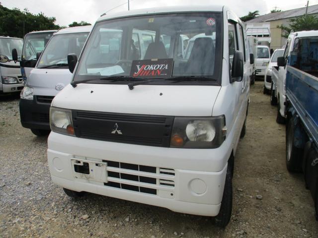 沖縄の中古車 三菱 ミニキャブバン 車両価格 24万円 リ済別 2008(平成20)年 15.8万km ホワイト