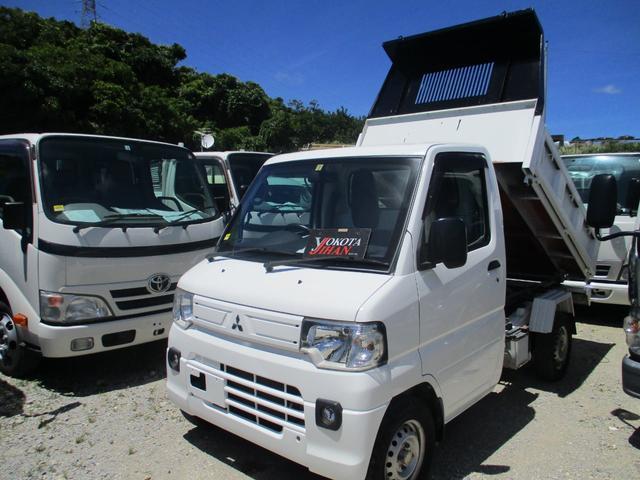 沖縄県の中古車ならミニキャブトラック 4WDダンプ