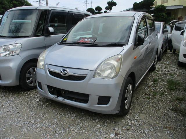 沖縄の中古車 ダイハツ ミラ 車両価格 24万円 リ済別 2012(平成24)年 14.9万km シルバー