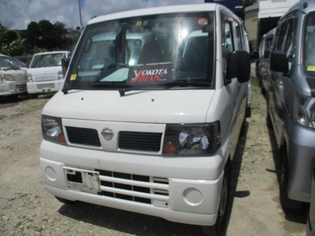 沖縄の中古車 日産 クリッパーバン 車両価格 28万円 リ済別 2011(平成23)年 13.3万km ホワイト