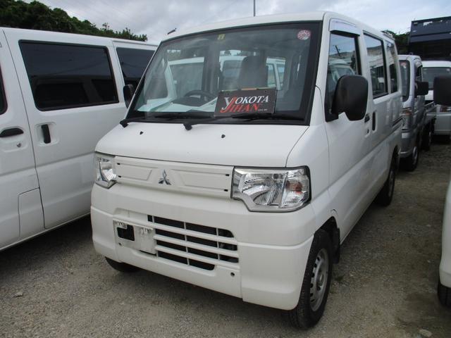 沖縄の中古車 三菱 ミニキャブバン 車両価格 29万円 リ済別 2012(平成24)年 12.1万km ホワイト