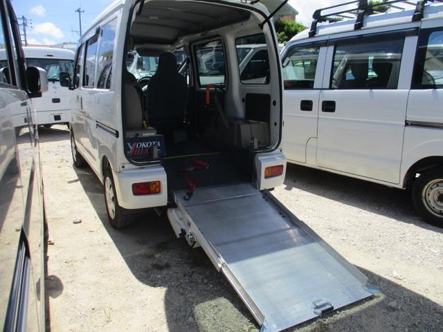 沖縄県中頭郡西原町の中古車ならハイゼットカーゴ スロープ式福祉車両