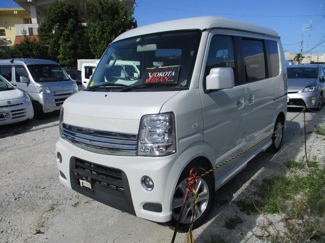 沖縄県の中古車ならエブリイワゴン PZターボスペシャル ハイルーフ