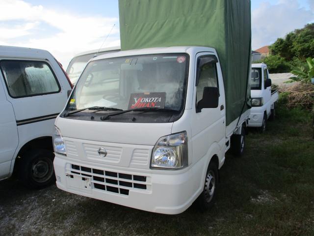 沖縄県中頭郡西原町の中古車ならNT100クリッパートラック ホロ車