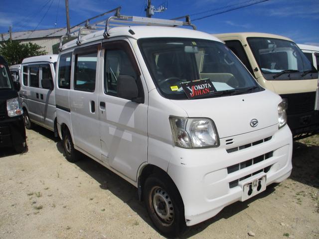 沖縄の中古車 ダイハツ ハイゼットカーゴ 車両価格 24万円 リ済別 2008(平成20)年 15.2万km ホワイト