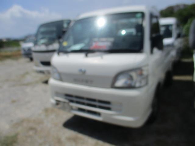 沖縄県中頭郡西原町の中古車ならハイゼットトラック 4WDエアコンパワステ付き
