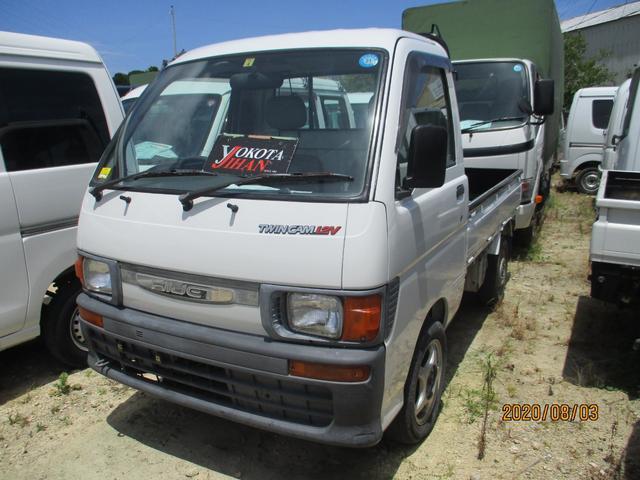 沖縄の中古車 ダイハツ ハイゼットトラック 車両価格 27万円 リ済別 1996(平成8)年 12.7万km ホワイト