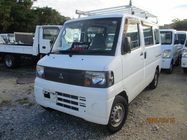 沖縄の中古車 三菱 ミニキャブバン 車両価格 24万円 リ済別 2008(平成20)年 14.5万km ホワイト