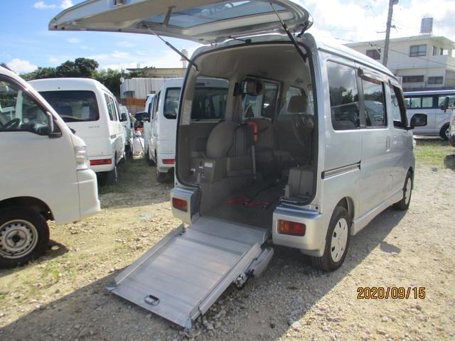 沖縄県の中古車ならアトレーワゴン  スロープ式福祉車両
