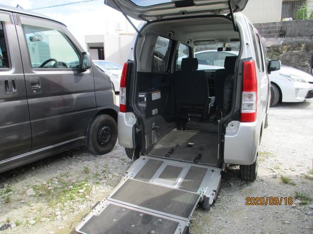 沖縄県の中古車ならワゴンR  スロープ式福祉車両