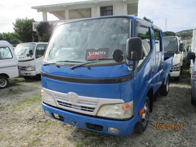 沖縄県の中古車ならトヨエース Wキャブロングジャストロー 1100K積載