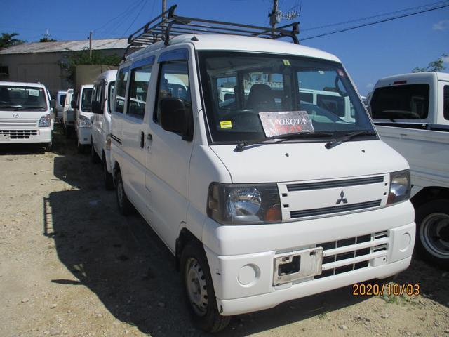 沖縄の中古車 三菱 ミニキャブバン 車両価格 24万円 リ済別 2010(平成22)年 11.3万km ホワイト