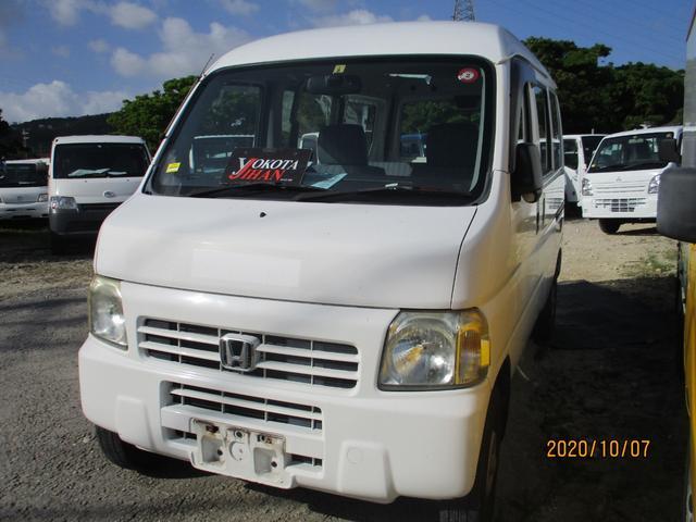 沖縄の中古車 ホンダ アクティバン 車両価格 28万円 リ済別 2007(平成19)年 17.2万km ホワイト